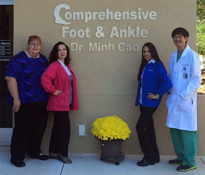 Staff at Comprehensive Foot & Ankle Center